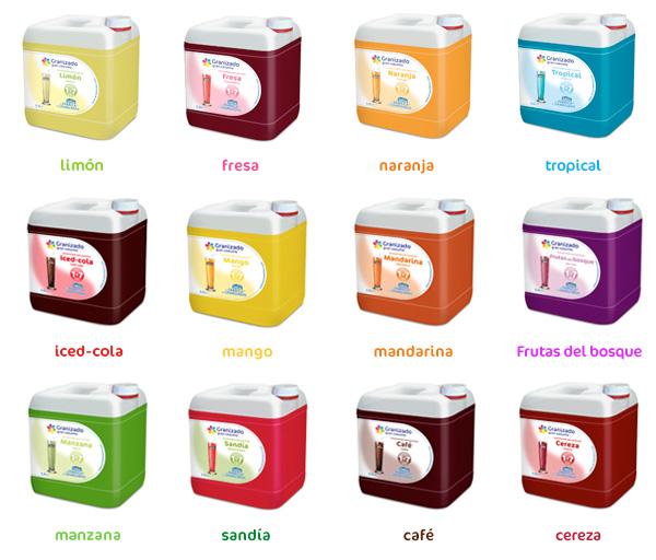 slush machine flavors