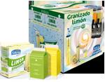 Caja granizado limón