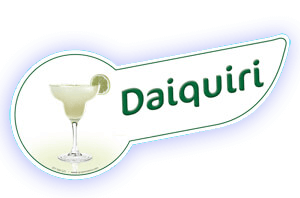 Banda coctel daiquiri