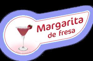 Banda coctel margarita fresa