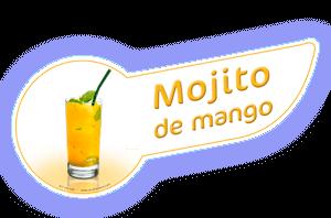 Banda coctel mojito mango