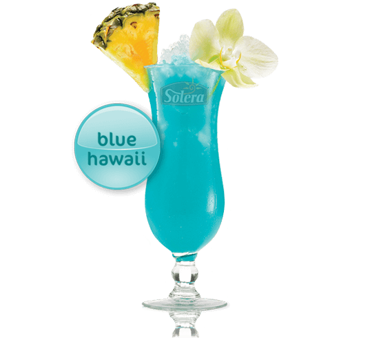 Cóctel Blue Hawaii Solera