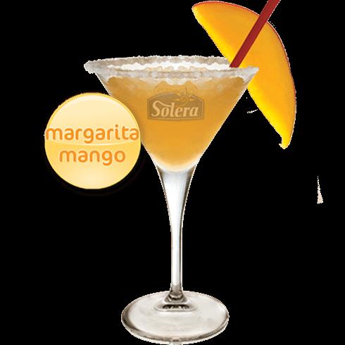 Cóctel margarita de mango Solera
