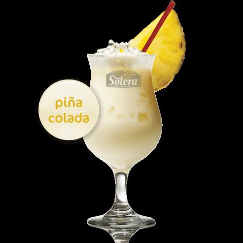 Coctel piña colada Solera