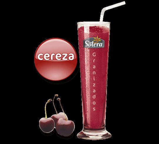 Granizado de cereza Solera