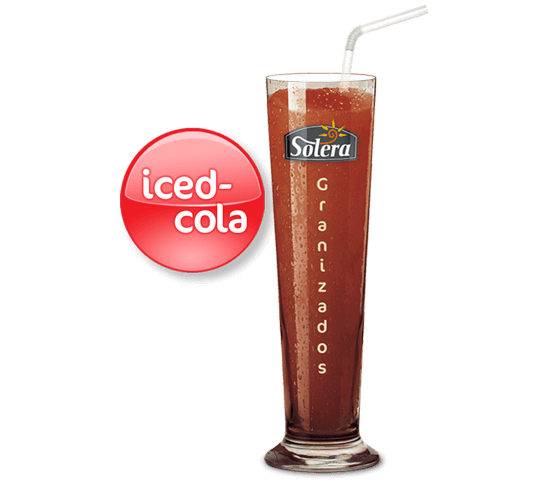 Granizado iced cola Solera