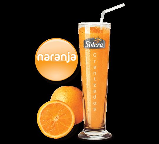 Granizado de naranja Solera