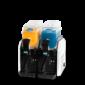 Granizadora Iced 2 blanca 2 depositos de 6 litros