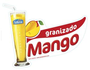 Cartel Granizado mango