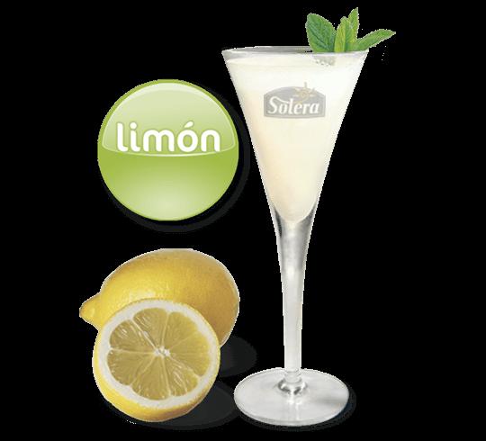 Sorbete de limón Solera