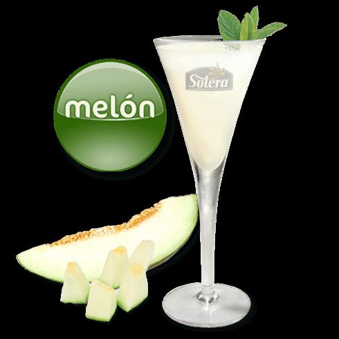 Sorbete de melón Solera