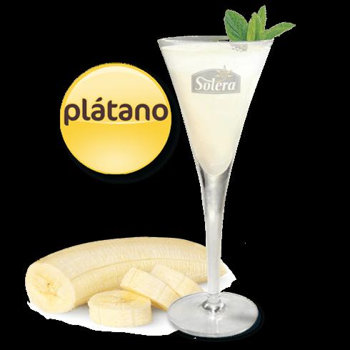 Sorbete de plátano Solera