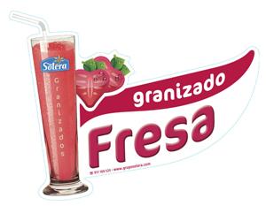 Granizado fresa