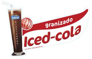 Cartel Granizado iced-cola