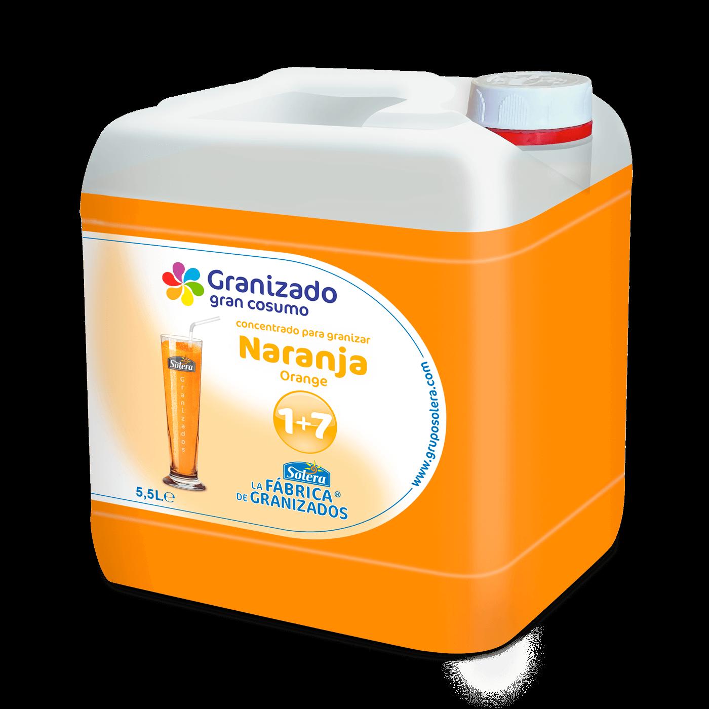 Garrafa naranja