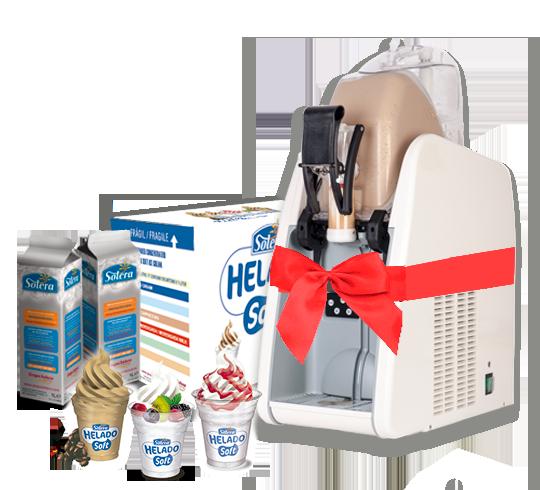 promocion helado soft